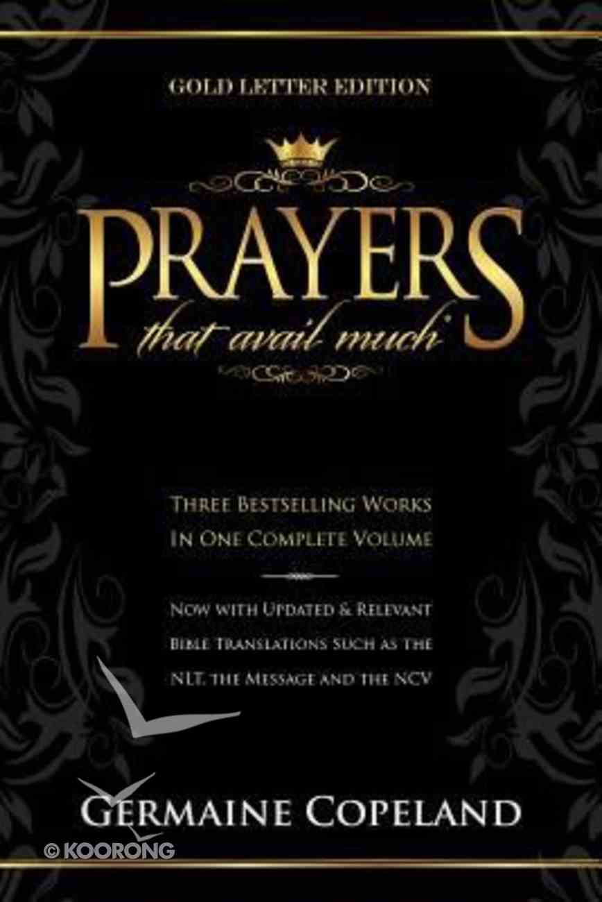 Prayers That Avail Much (Gold Letter Edition) (Prayers That Avail Much Series) Paperback