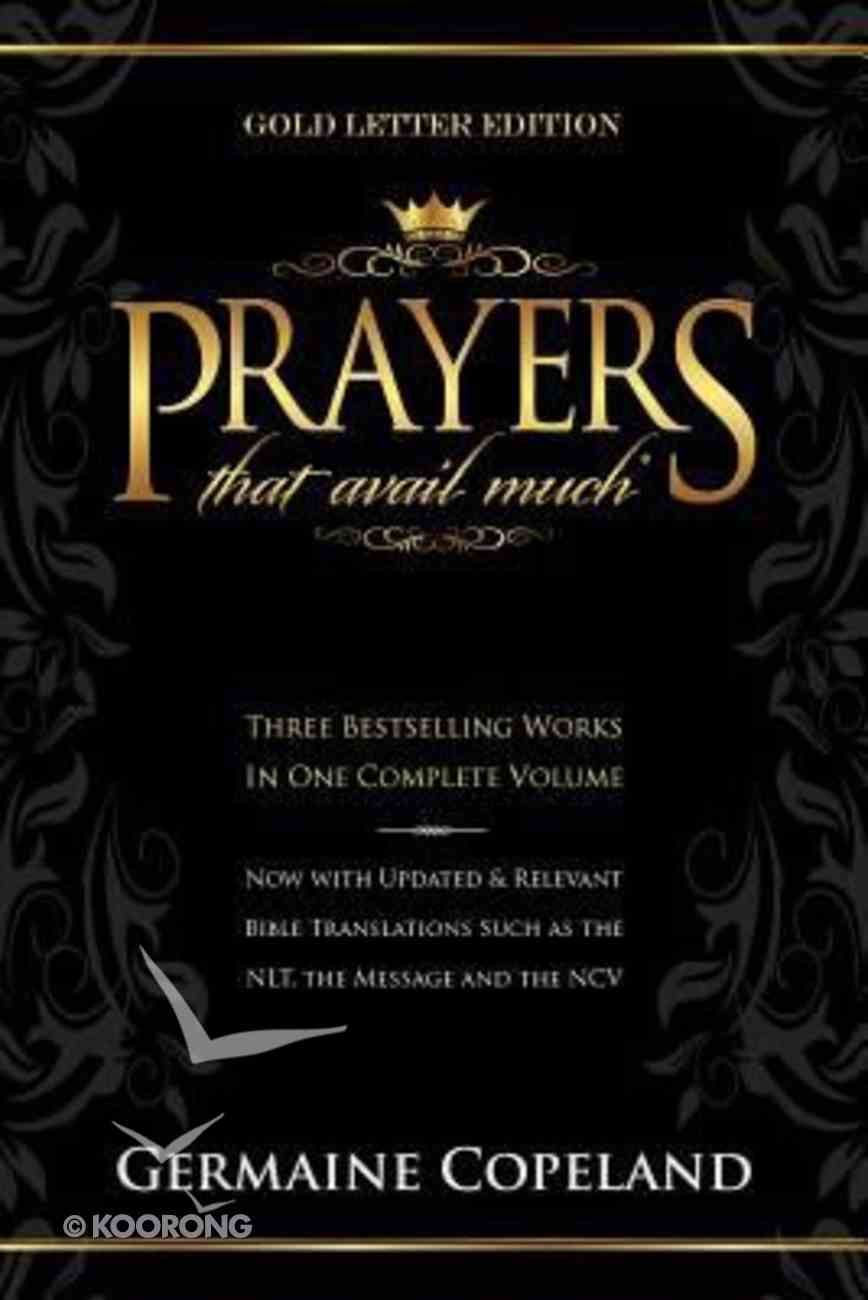 Prayers That Avail Much (Gold Letter Gift Edition) (Prayers That Avail Much Series) Bonded Leather