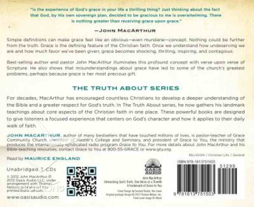 The Truth About Grace (Unabridged, 2 Cds) CD