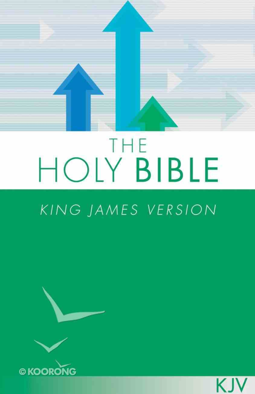 KJV Holy Bible Green Paperback