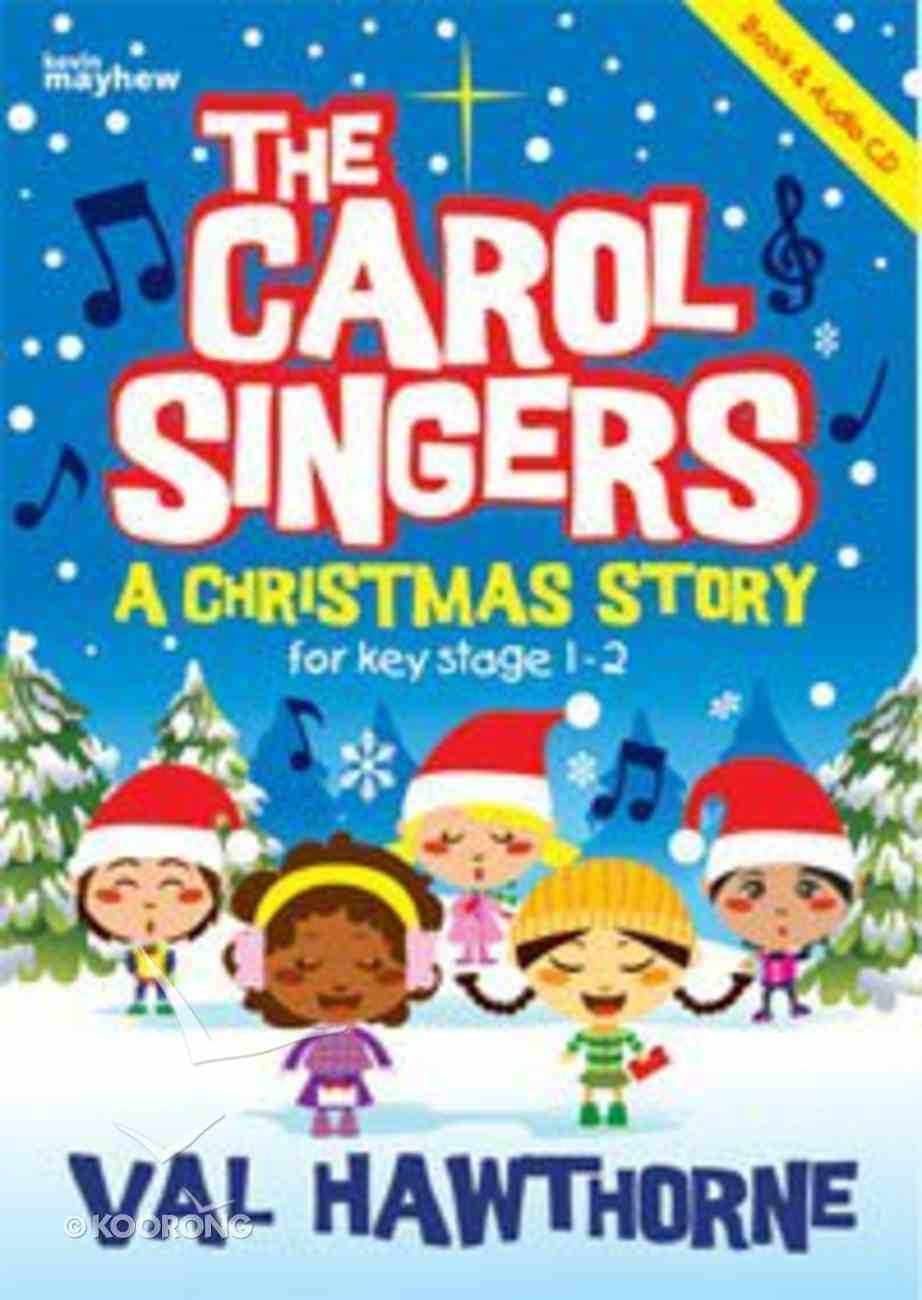 The Carol Singers (Book And Cd) Paperback