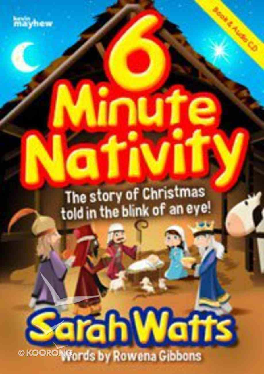 6 Minute Nativity (Book And Cd) Paperback