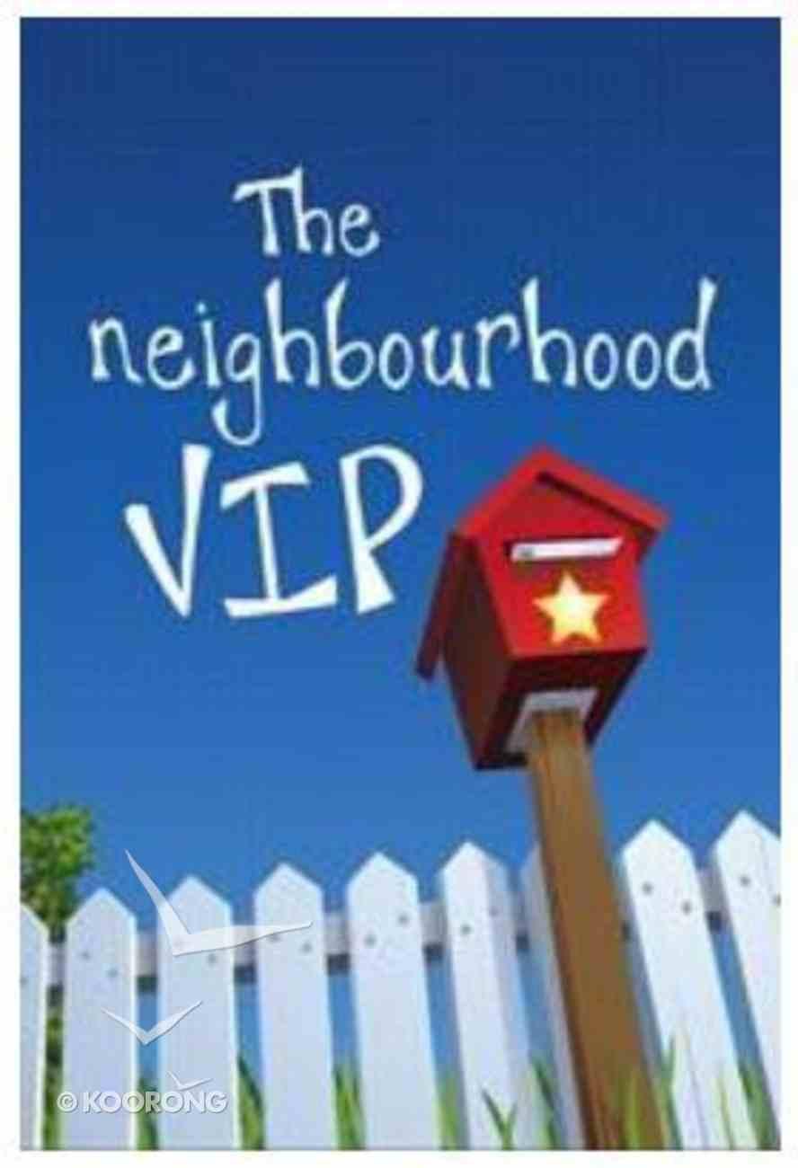The Neighbourhood Vip Booklet
