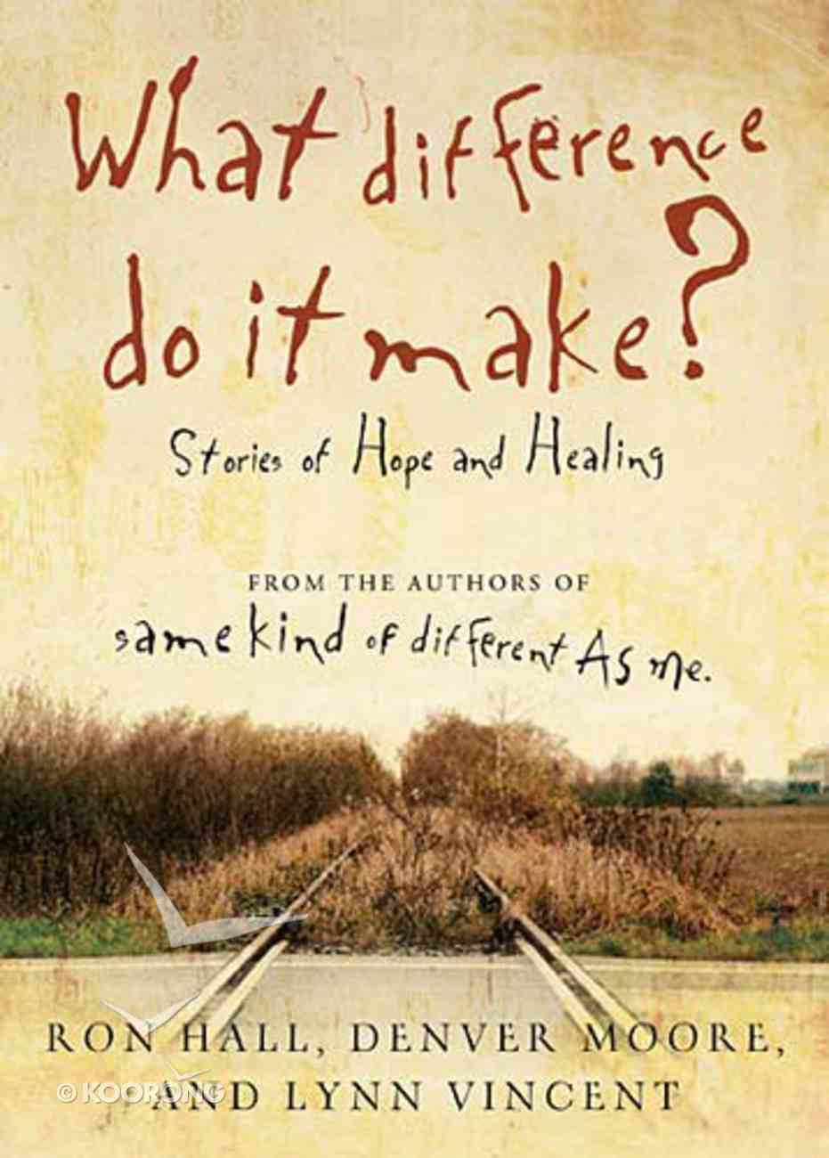 What Difference Do It Make Paperback