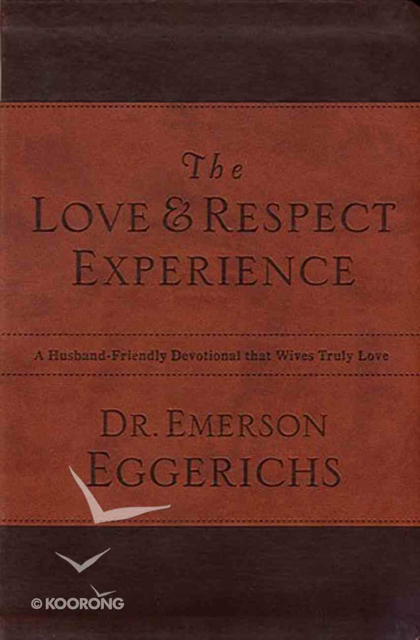 The Love and Respect Experience Premium Imitation Leather
