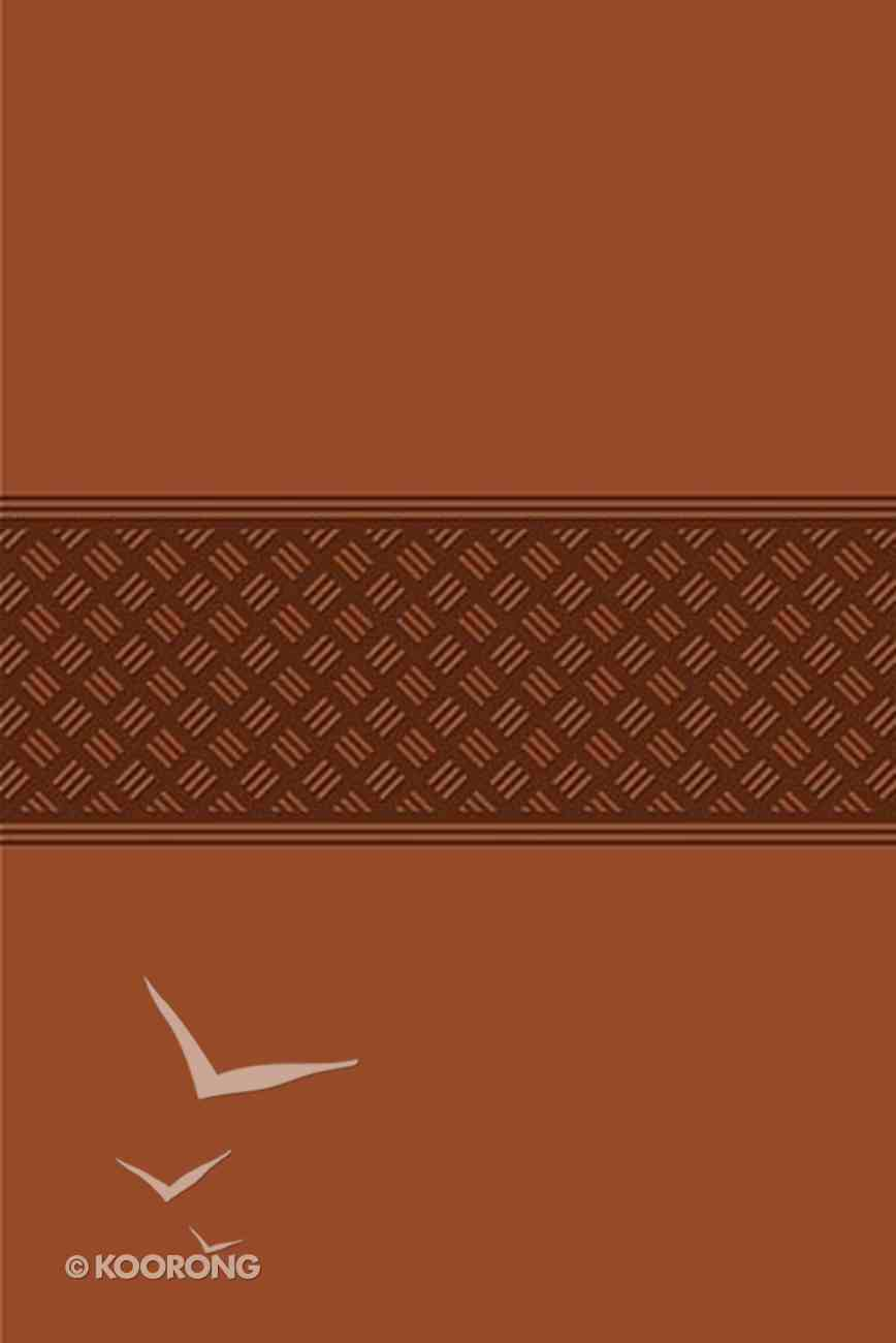 KJV Gift Bible Leathersoft Auburn Premium Imitation Leather