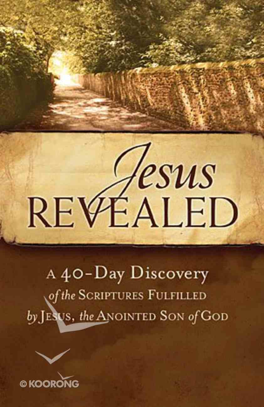 Jesus Revealed Booklet