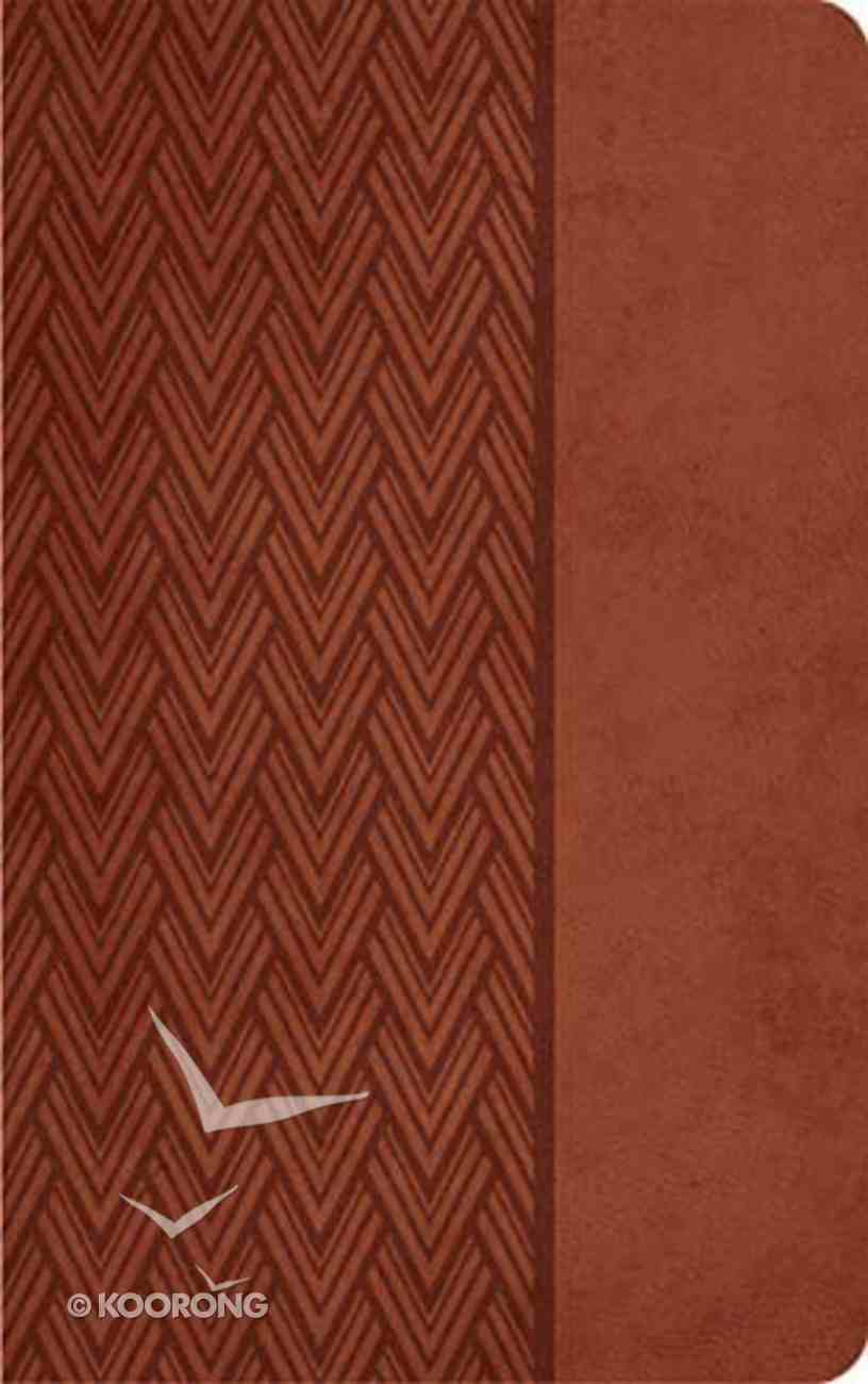 KJV Giant Print Center-Column Reference Bible Auburn Imitation Leather
