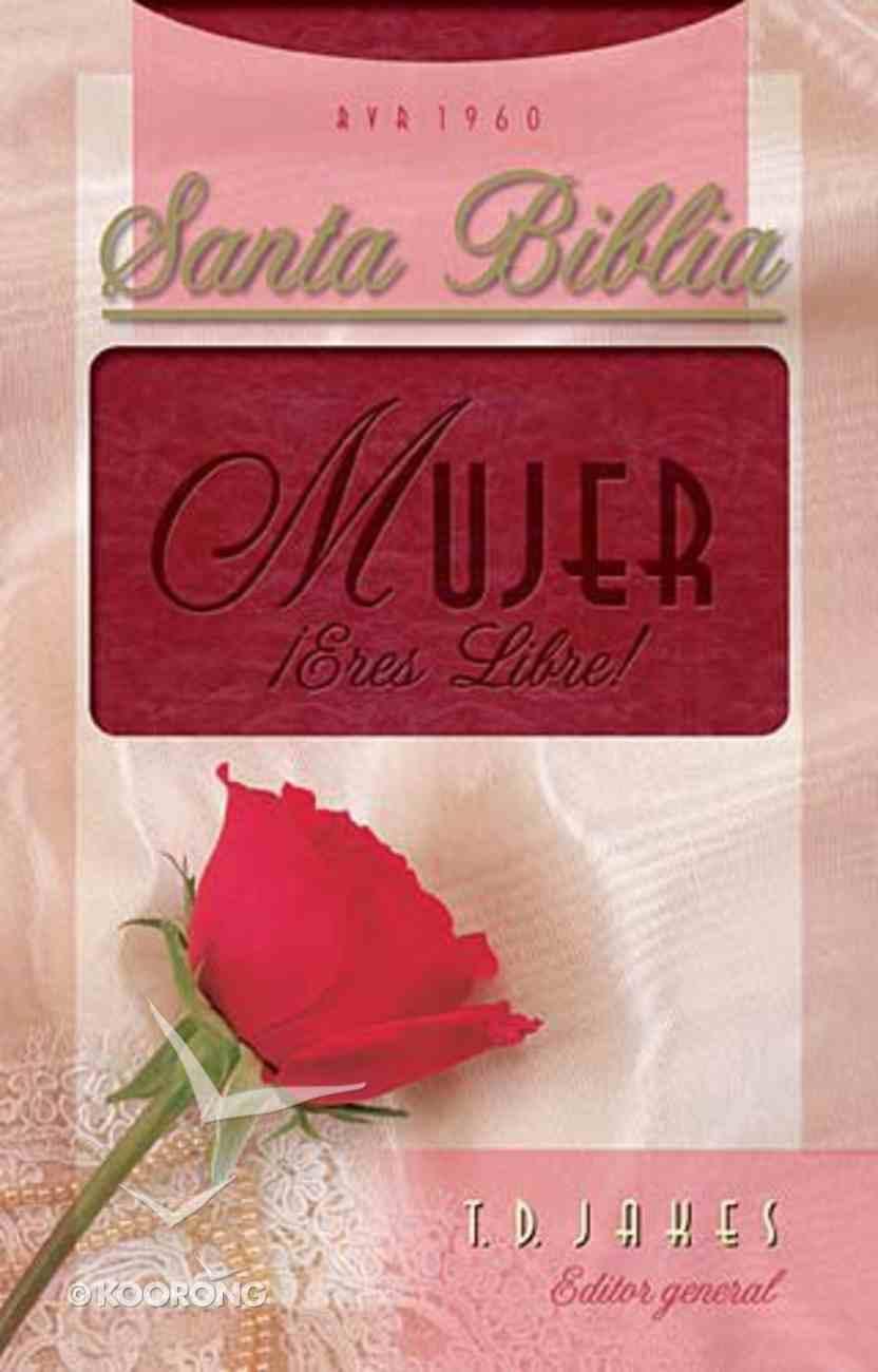Biblia Mujer Eres Libre! (Woman Thou Art Loosed) Imitation Leather