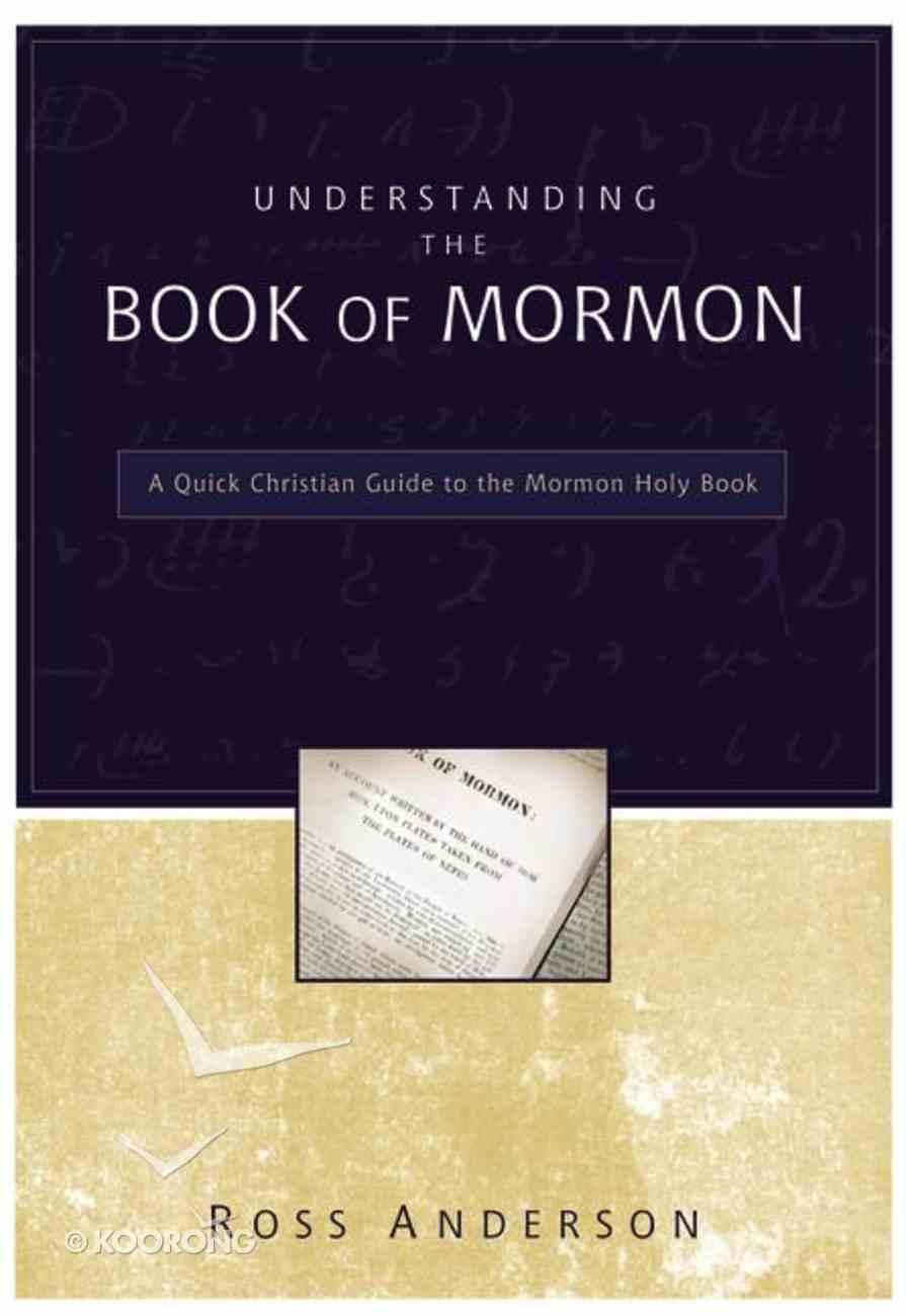 Understanding the Book of Mormon Paperback
