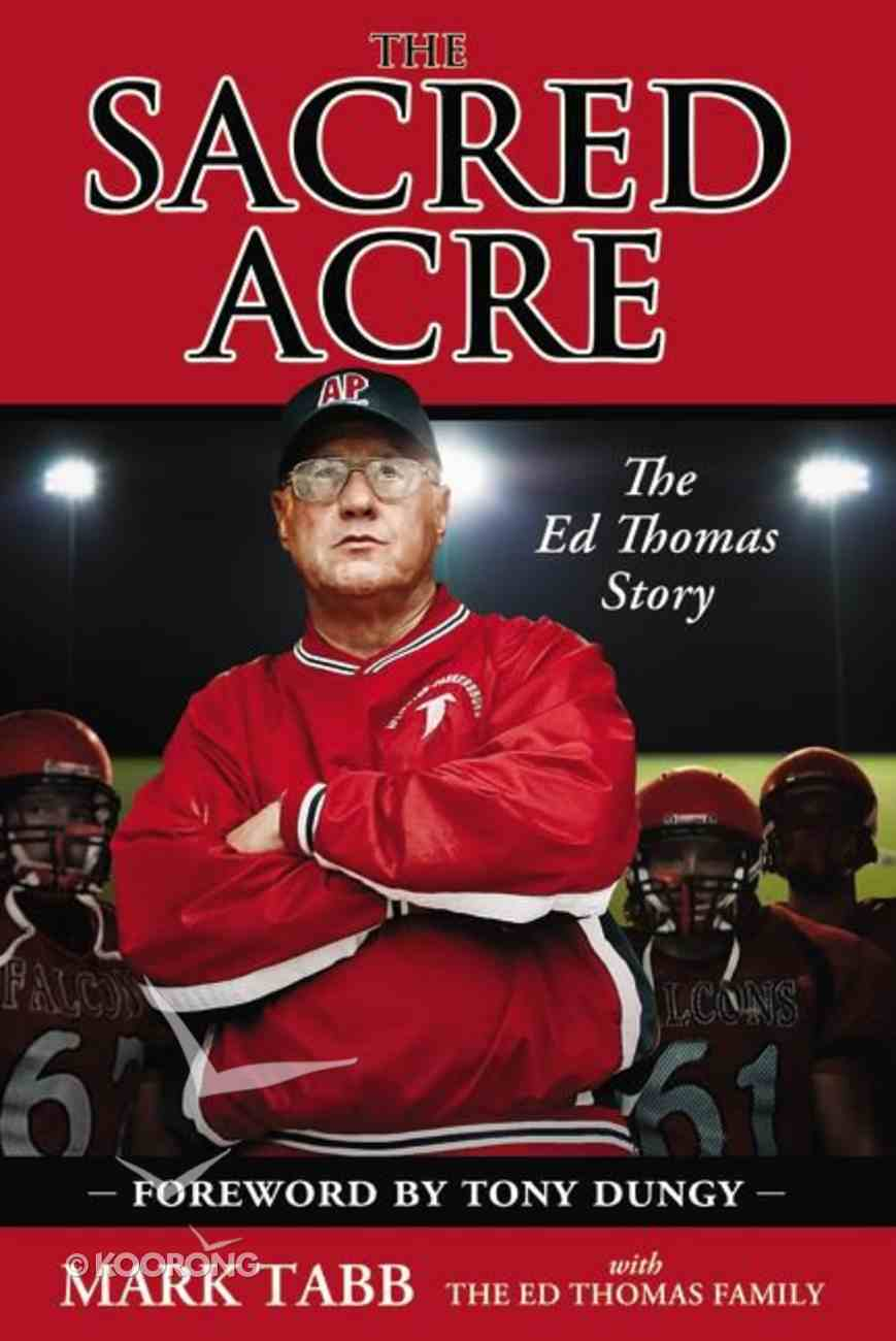 The Sacred Acre Paperback