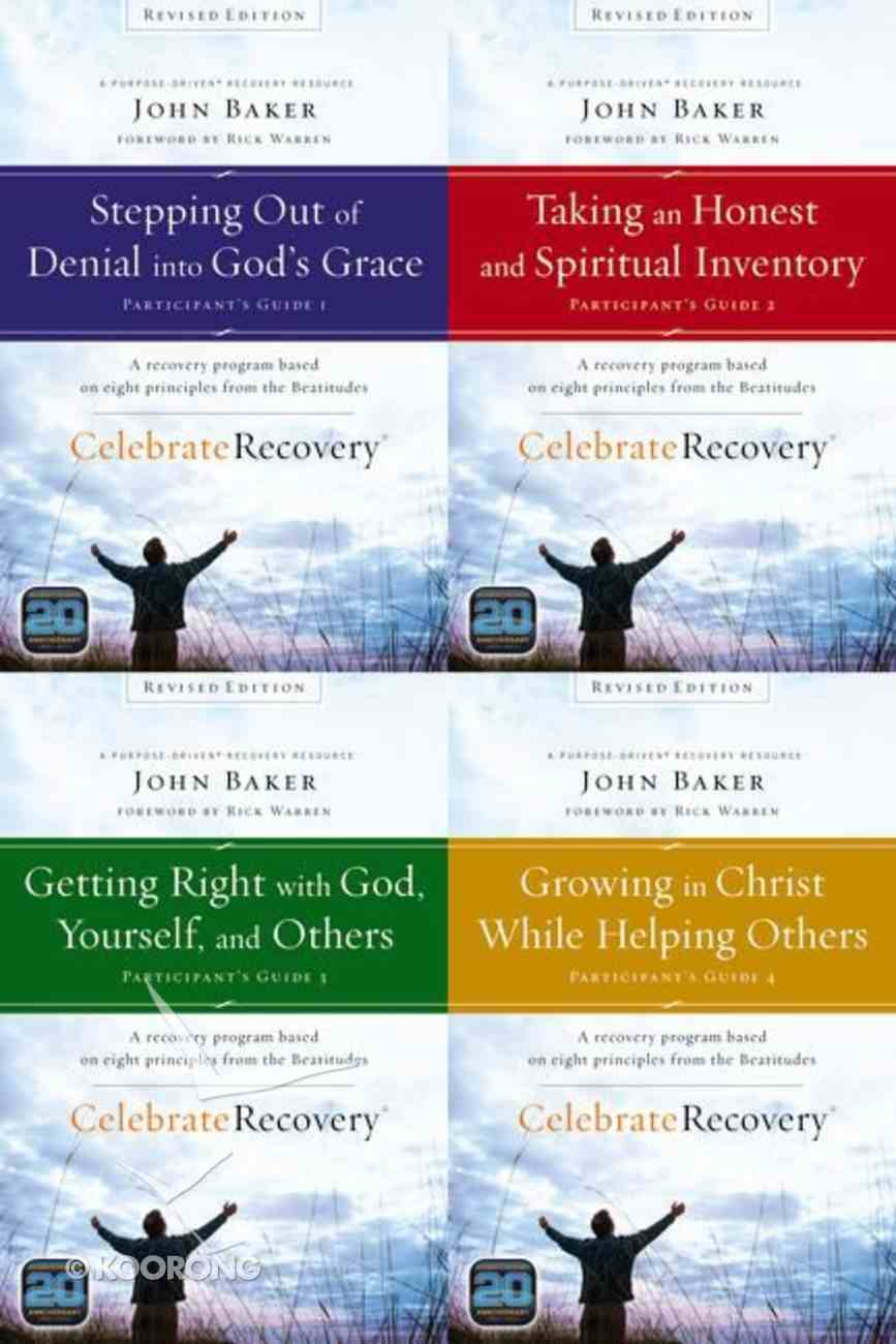 Celebrate Recovery Revised Set (Volume 1-4) (Participant's Guide) (Celebrate Recovery Series) Pack