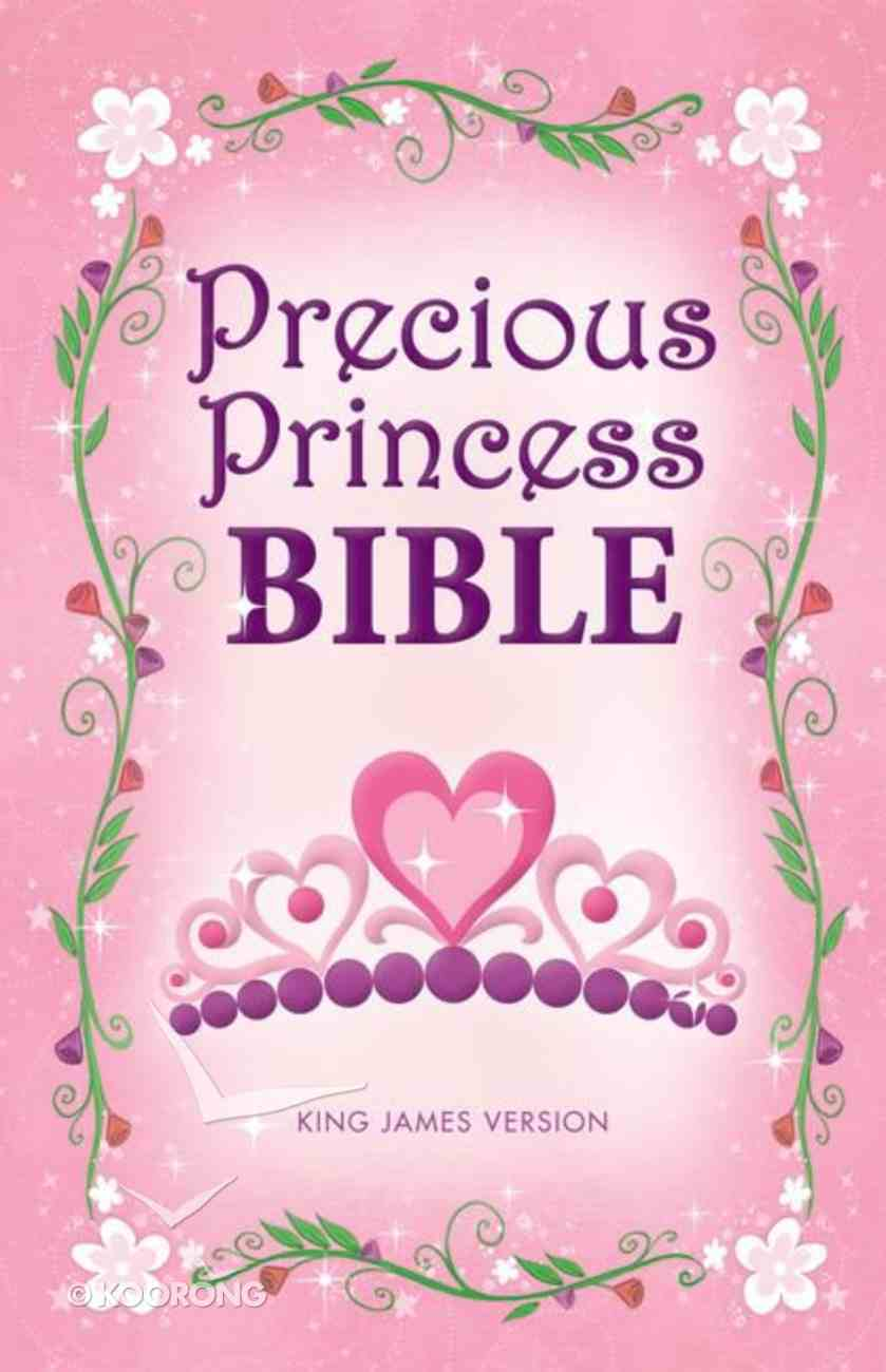 KJV Precious Princess Bible (Red Letter Edition) Hardback