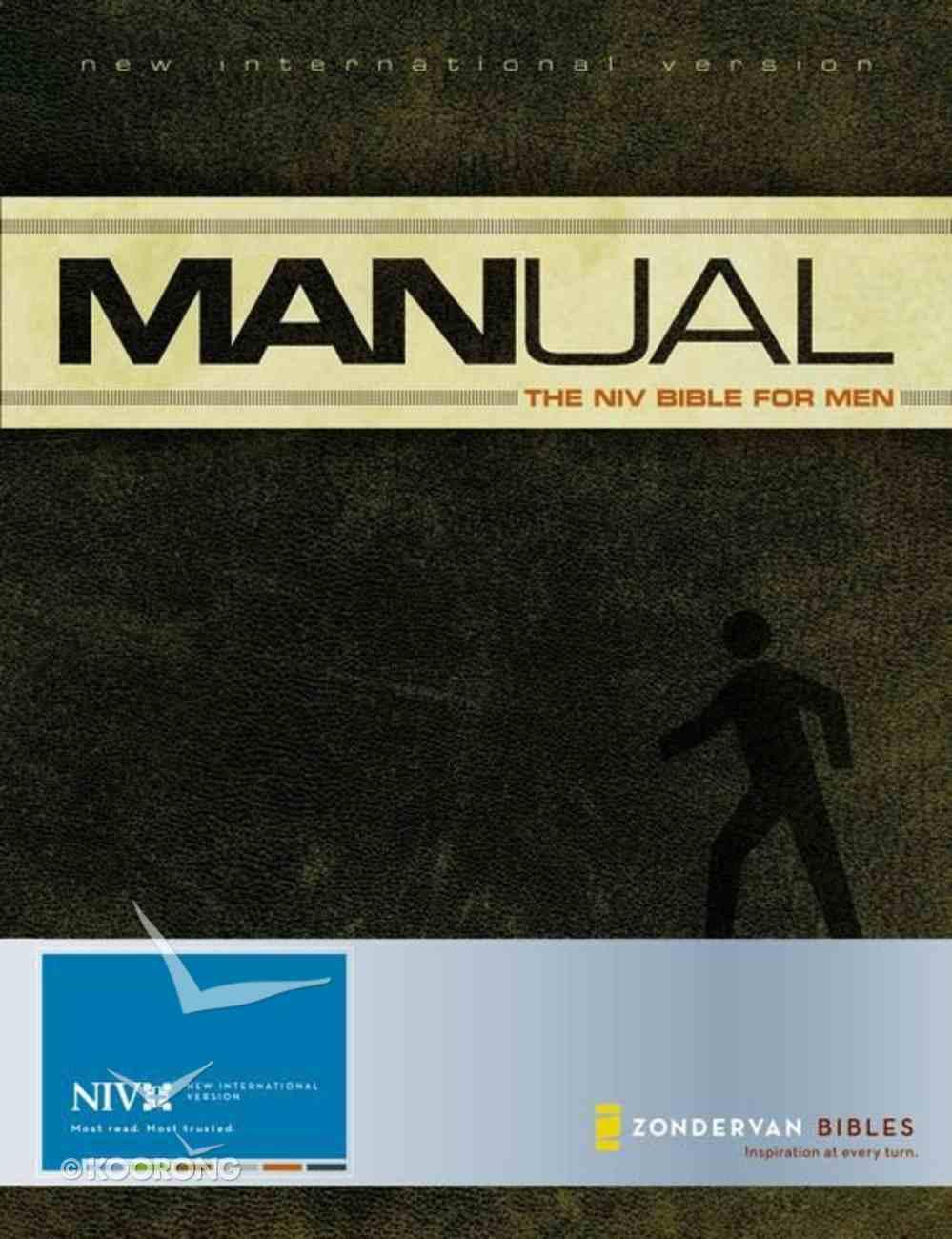 NIV Manual Bible For Men (1984) Hardback
