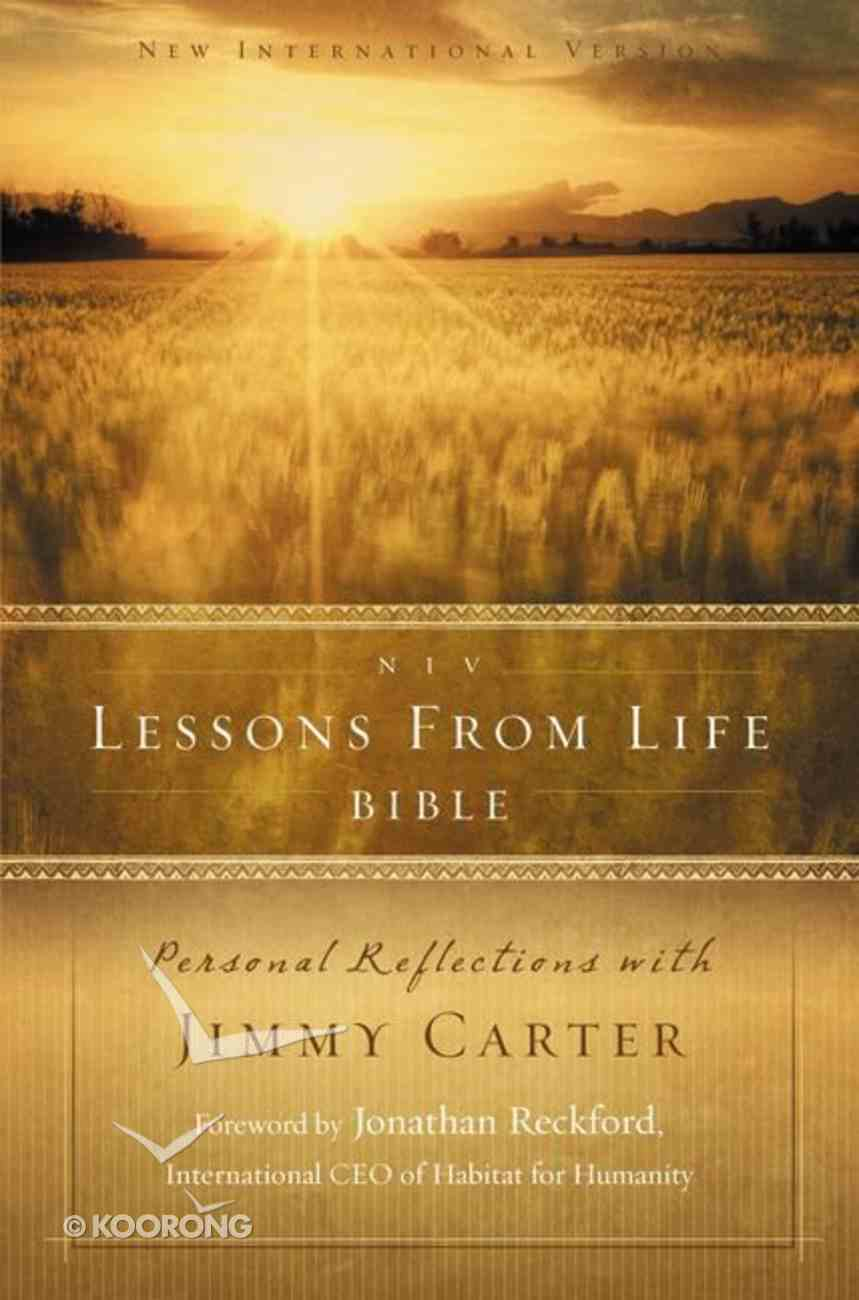 NIV Lessons From Life Bible (Black Letter Edition) Hardback
