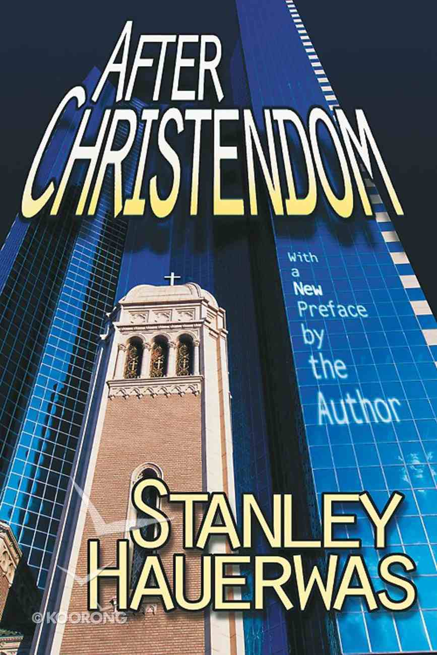 After Christendom? Paperback
