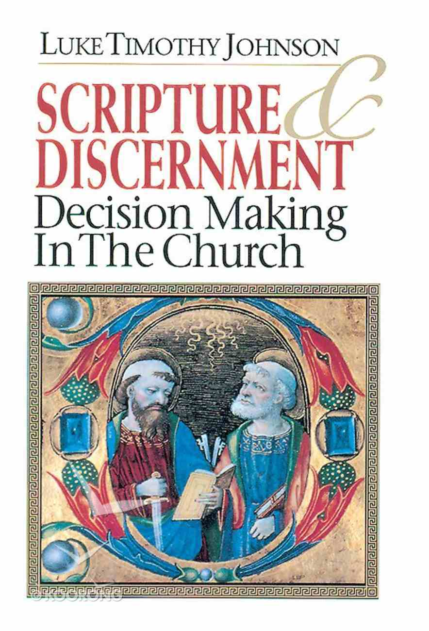 Scripture & Discernment Paperback