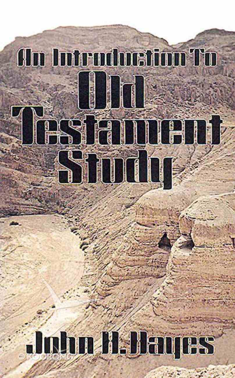 An Introduction to Old Testament Study Paperback