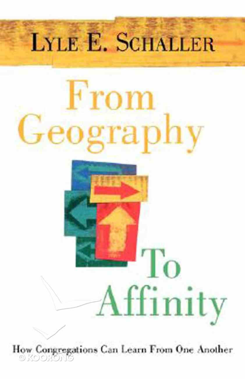From Geography to Affinity Paperback