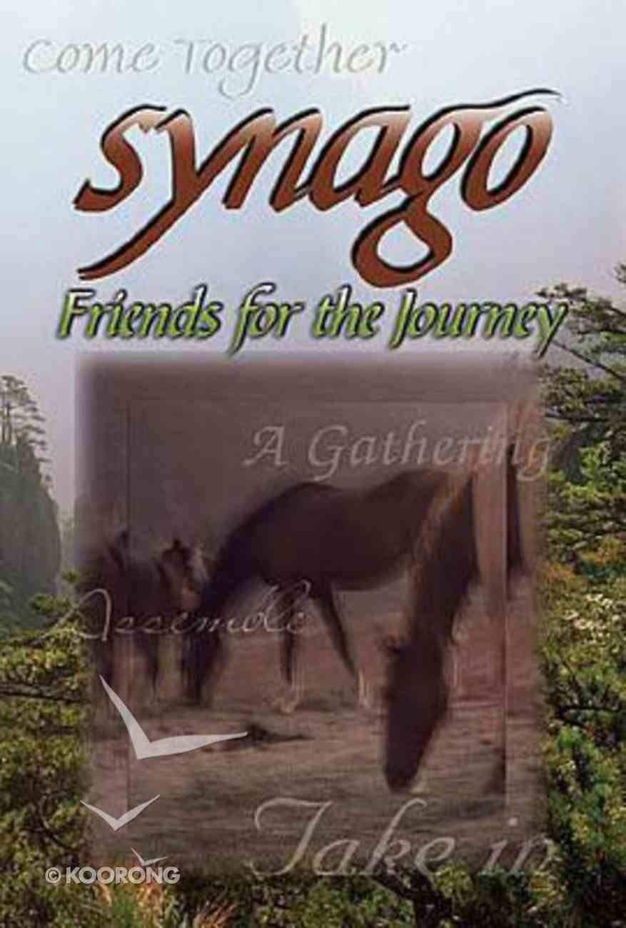 Friends For the Journey (Student Book) (Synago Small-group Resources Series) Paperback