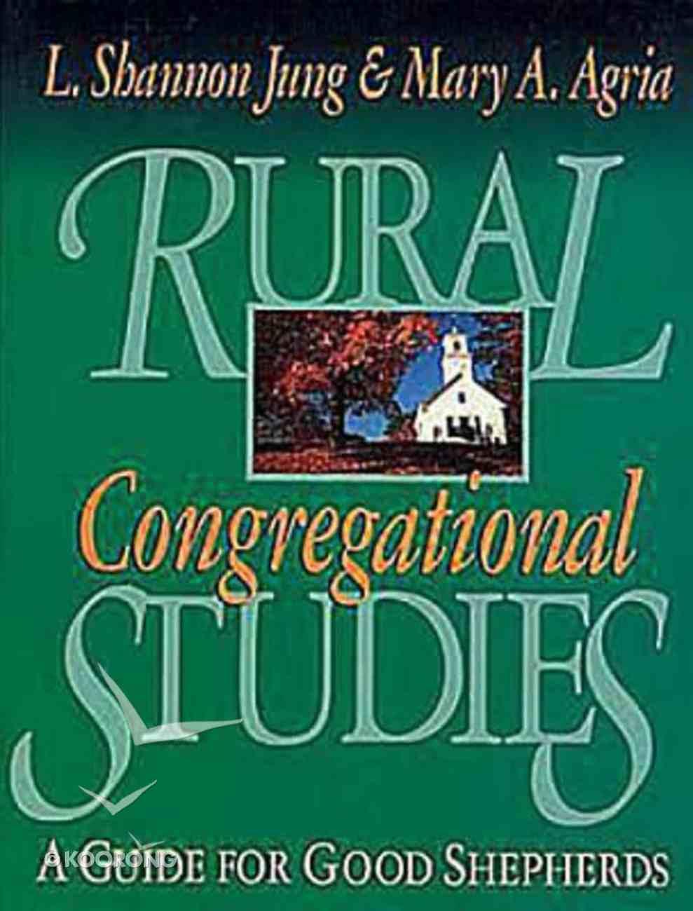 Rural Congregational Studies Paperback