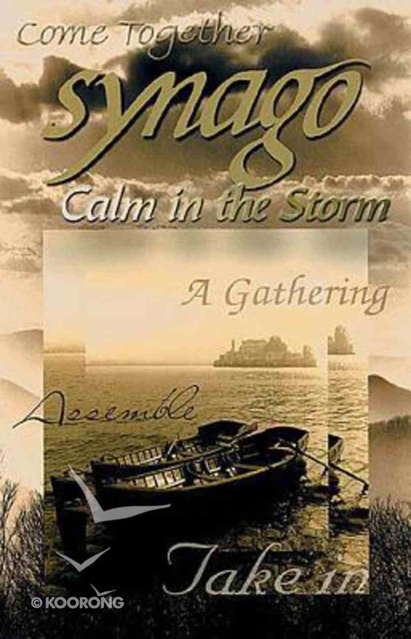 Calm in the Storm (Student Book) (Synago Small-group Resources Series) Paperback