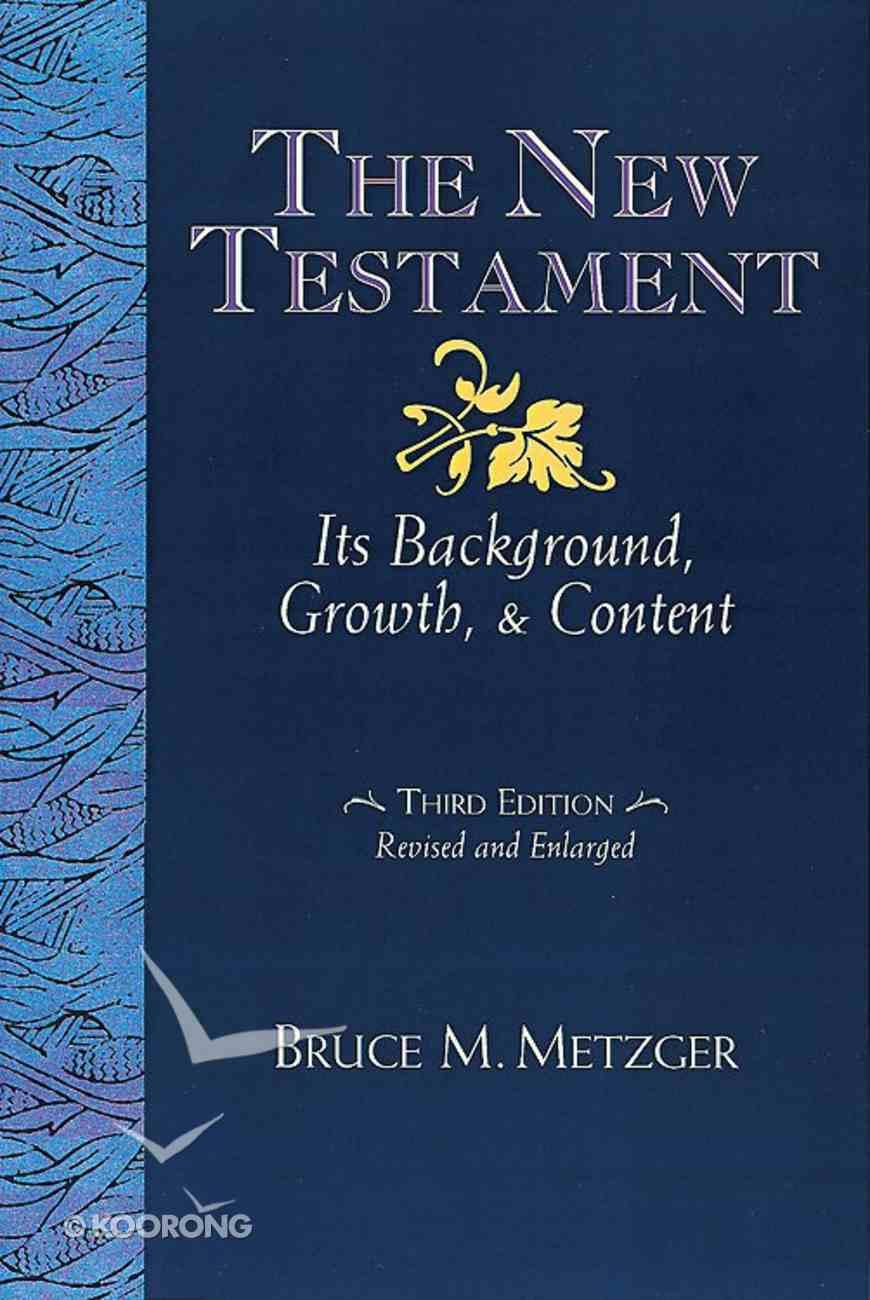The New Testament (3rd Edition) Hardback