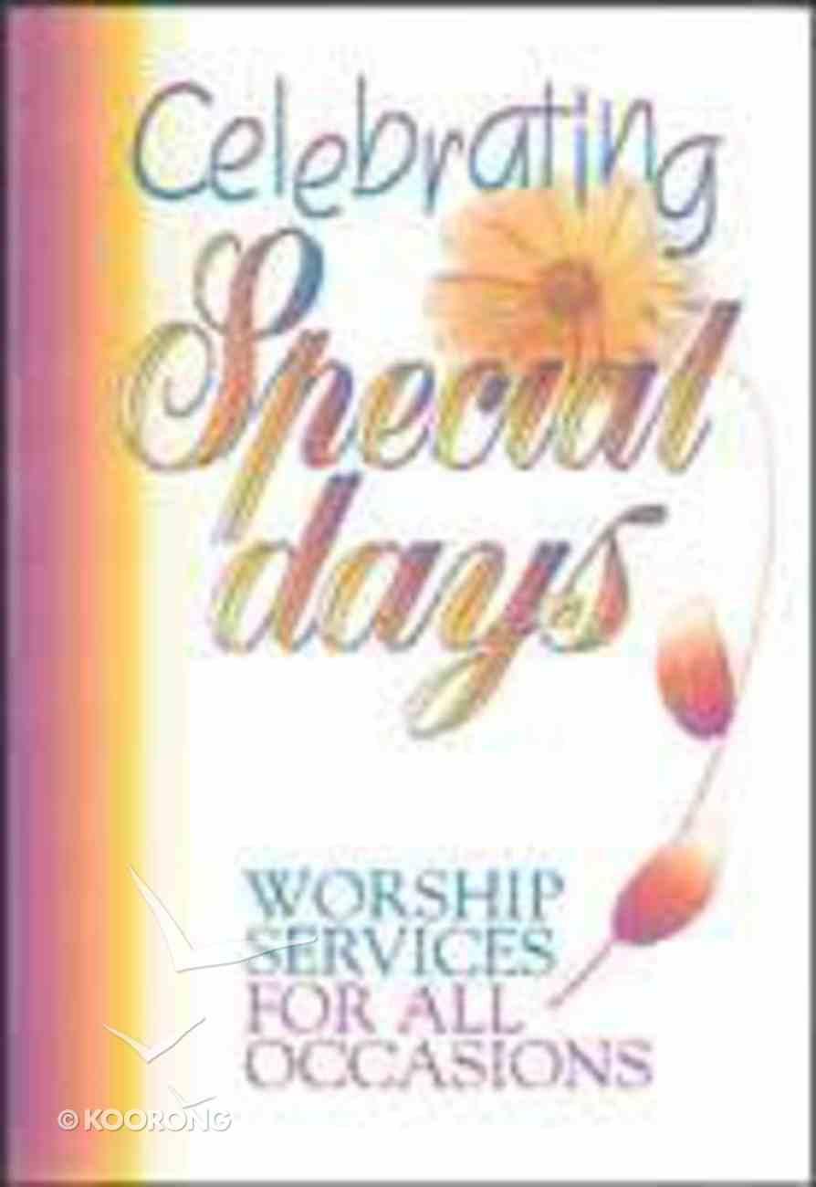 Celebrating Special Days Paperback