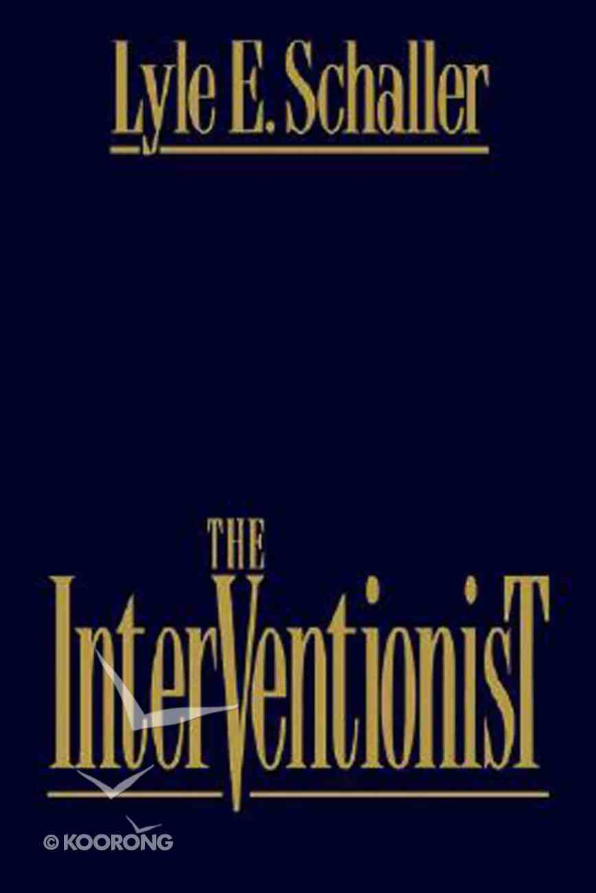 The Interventionist Paperback