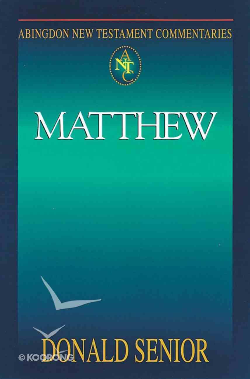 Matthew (Abingdon New Testament Commentaries Series) Paperback