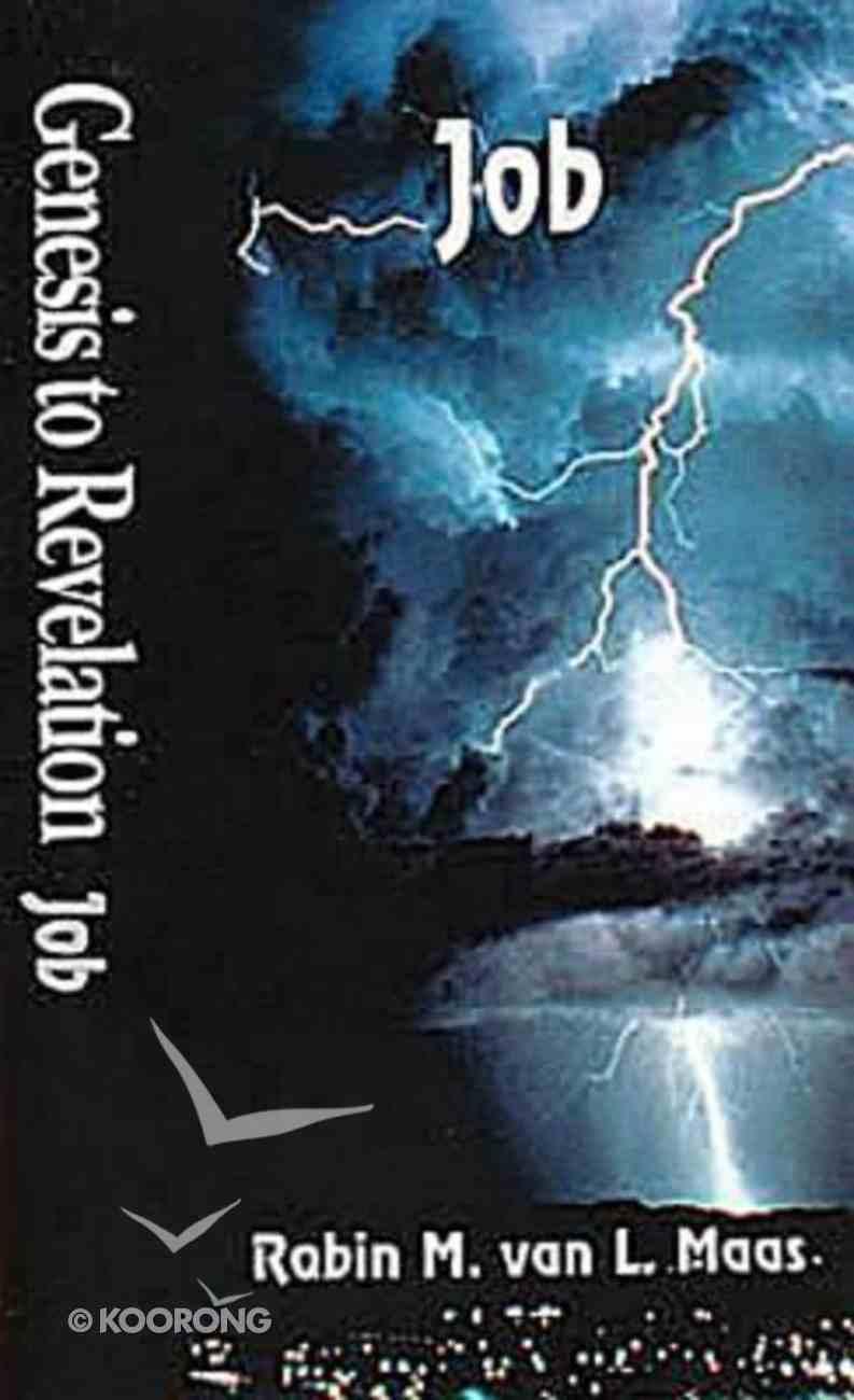 Job (Student Book) (Genesis To Revelation Series) Paperback