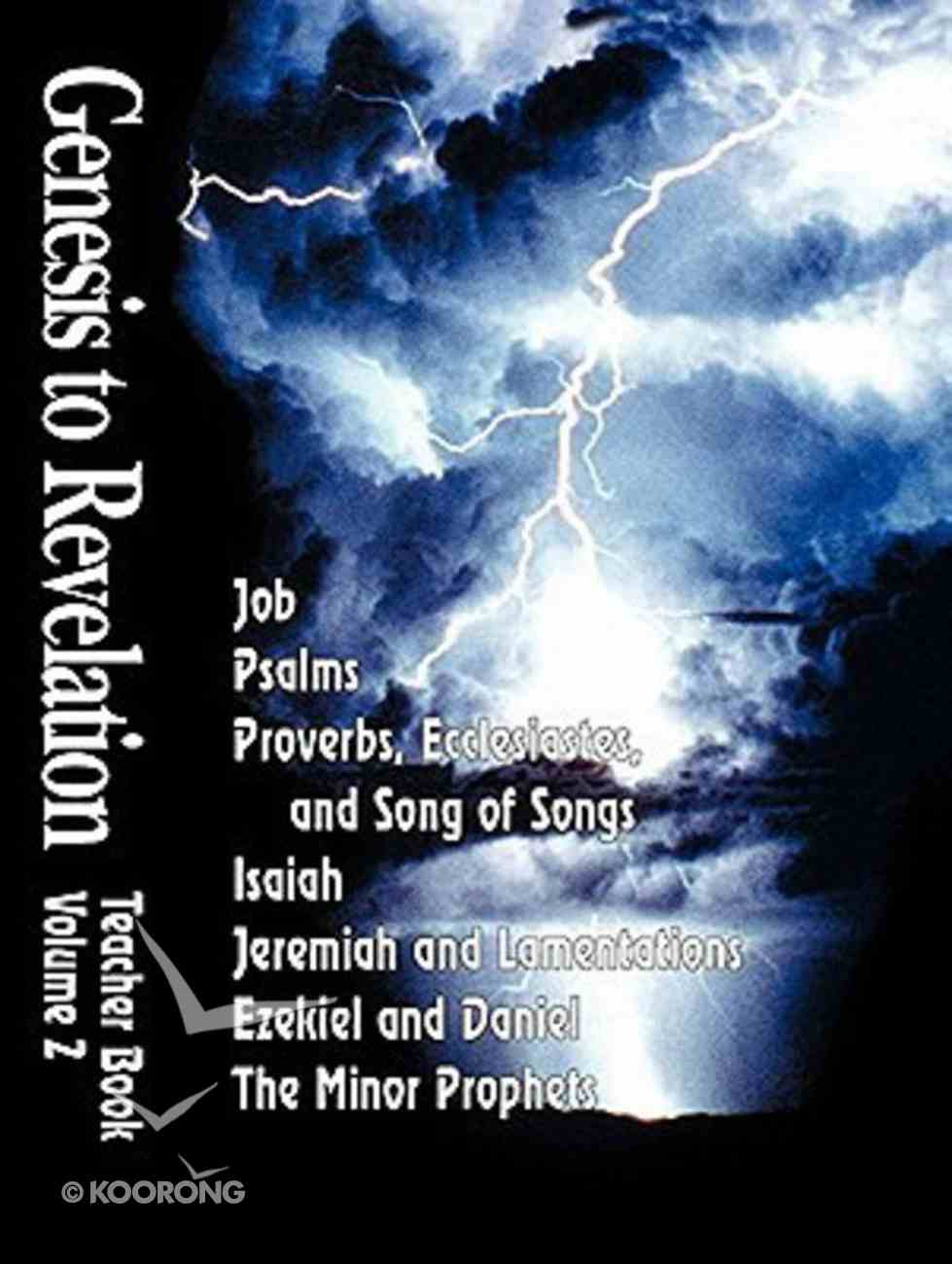 Job-Malachi (Leader Guide) (Genesis To Revelation Series) Paperback