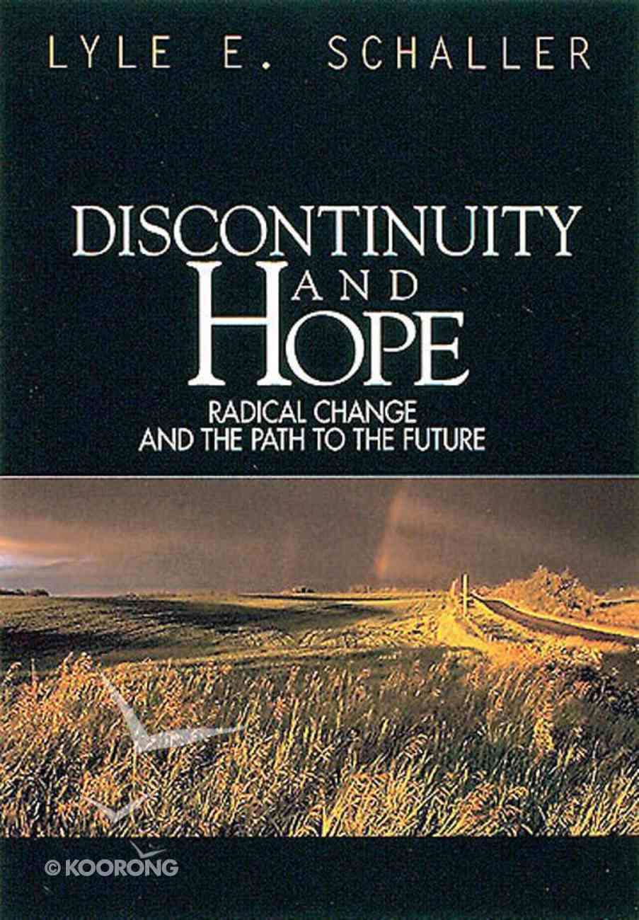 Discontinuity and Hope Paperback