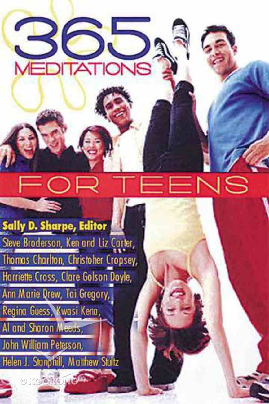 365 Meditations For Teens Paperback