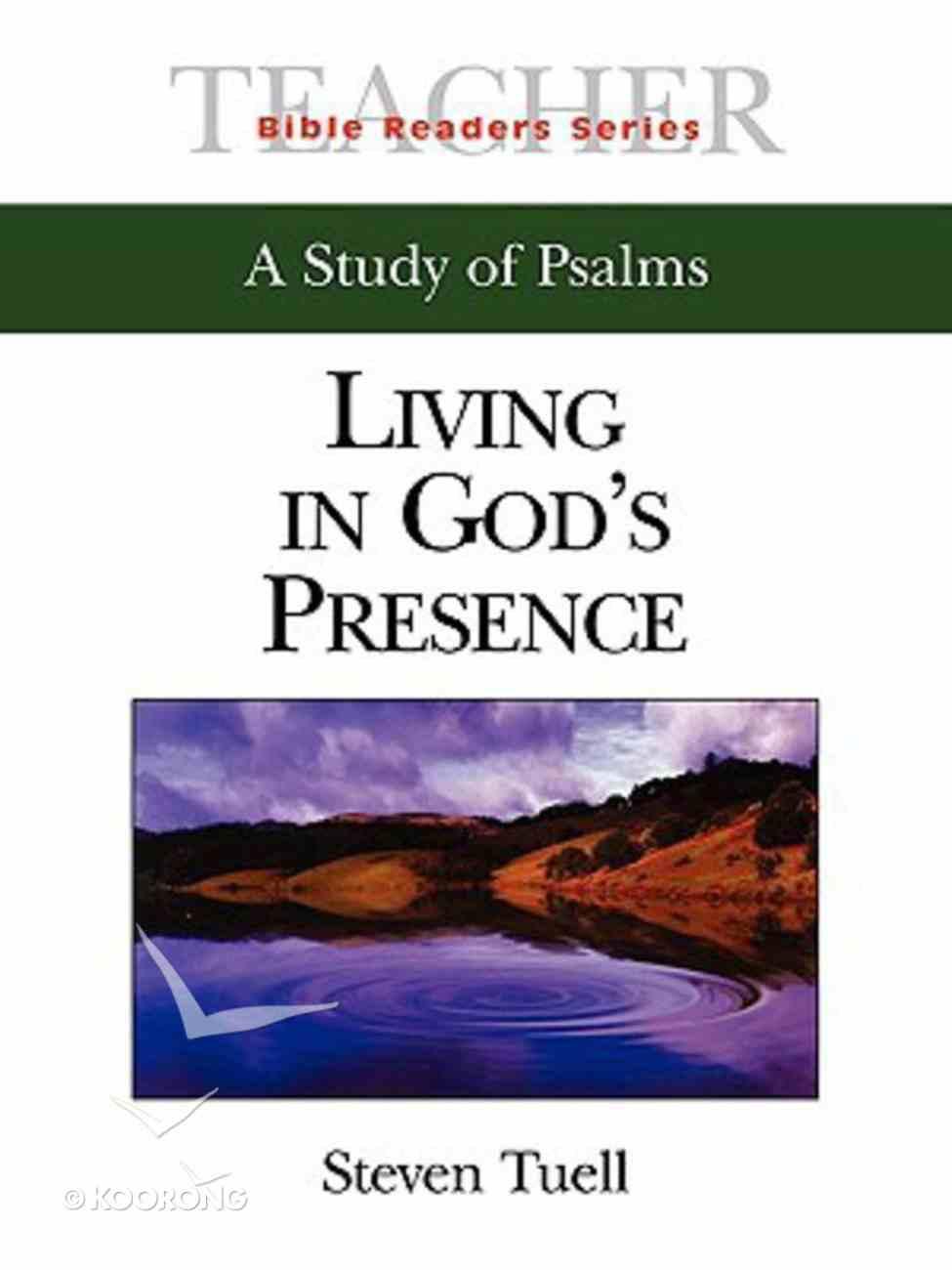 Living in God's Presence (Teacher's Guide) (Abingdon Bible Reader Series) Paperback