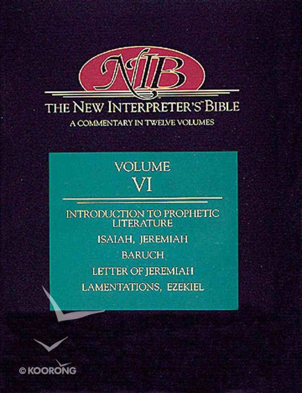 Isaiah-Ezekiel (#06 in New Interpreter's Bible Series) Hardback