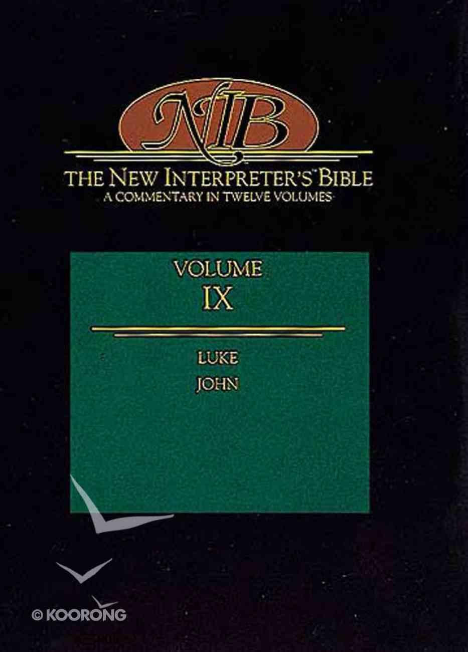 Luke-John (#09 in New Interpreter's Bible Series) Hardback