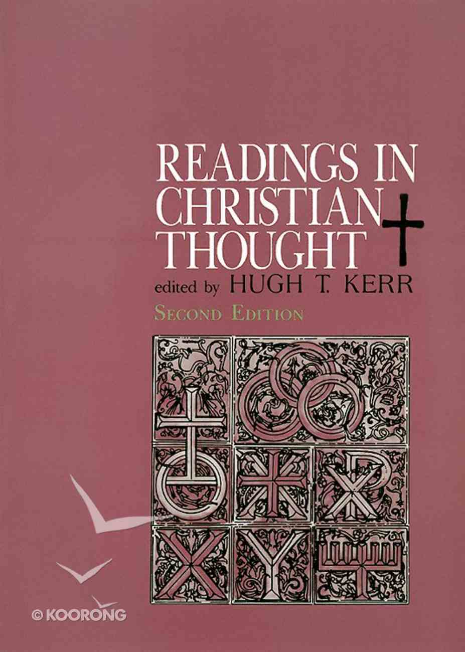 Readings in Christian Thought (2nd Edition) Paperback