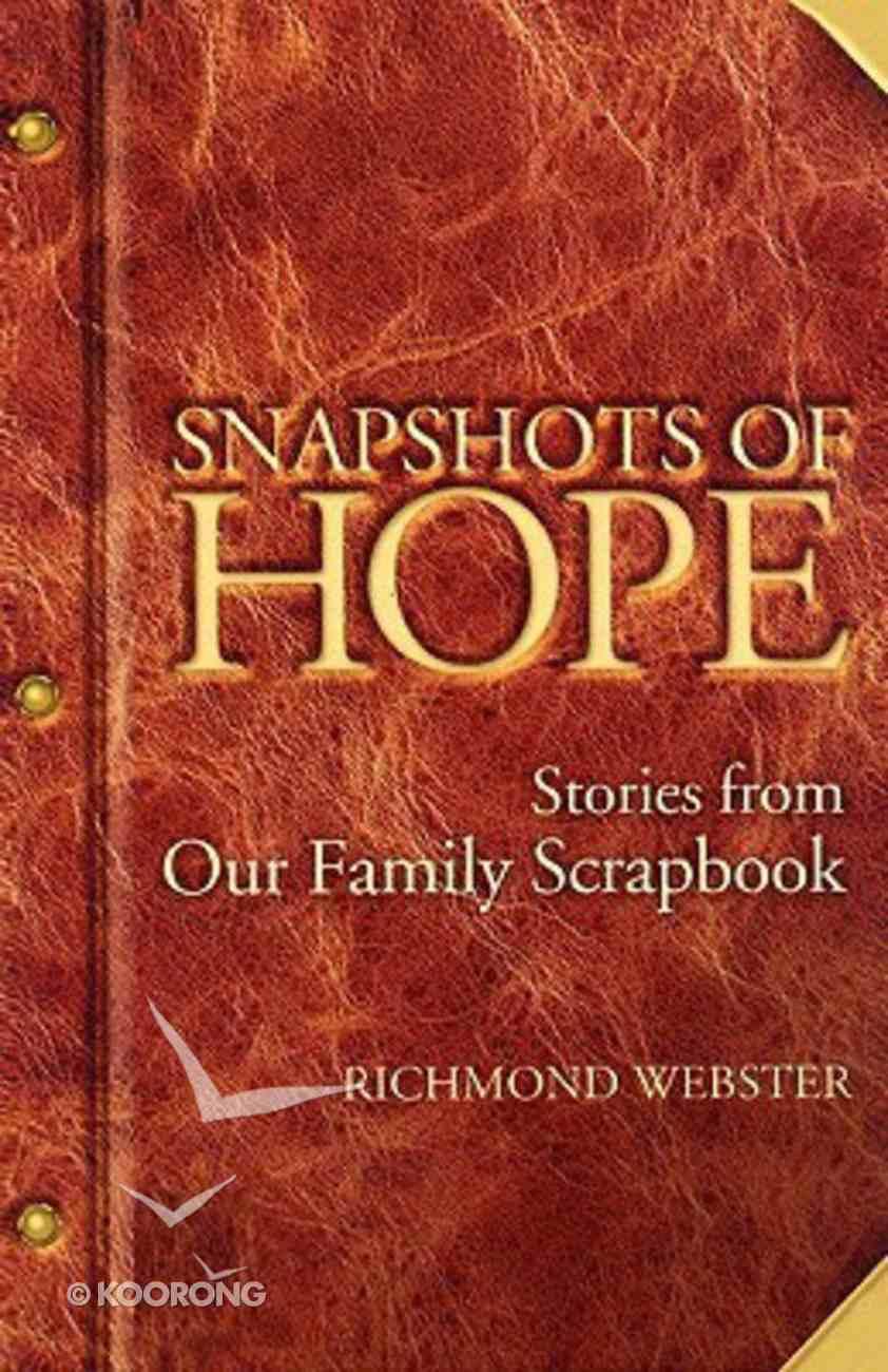 Snapshots of Hope Paperback