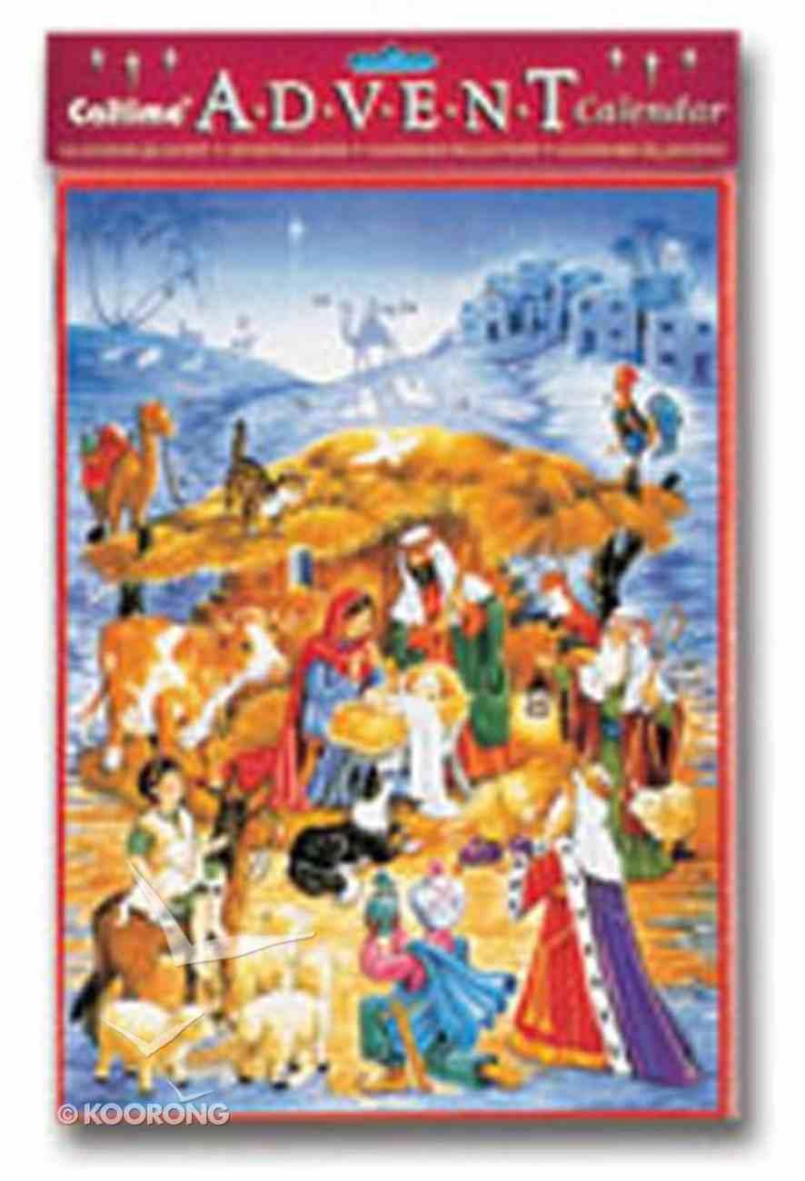 Advent Calendar: Bethlehem With Envelope Calendar