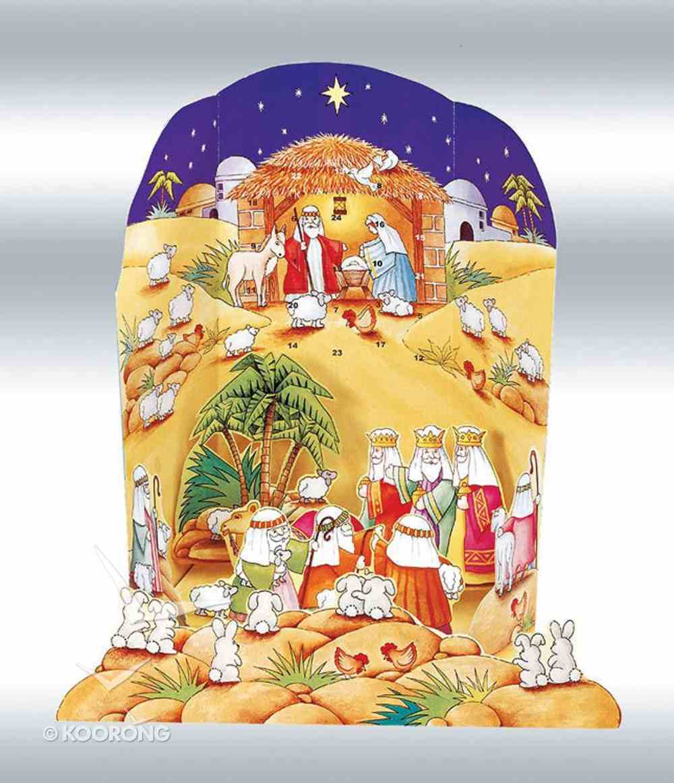 Advent Calendar: Nativity Scene Pop-Up Calendar