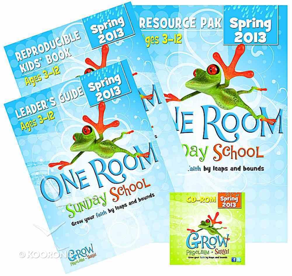 Resource Kit Spring 2013 (One Room Sunday School Series) Pack