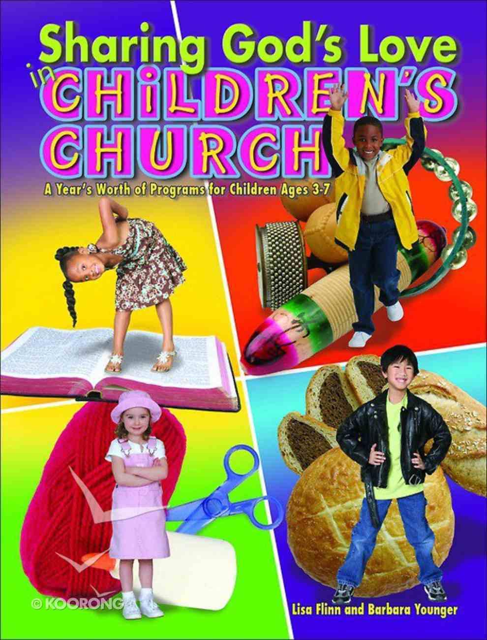 Sharing God's Love in Children's Church Paperback