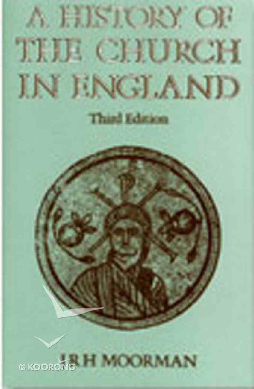 A History of the Church in England: Third Edition Hardback
