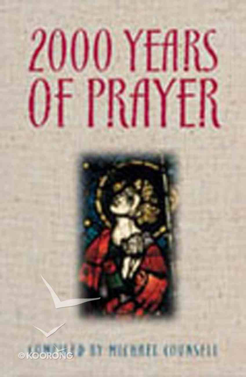 2000 Years of Prayer Paperback