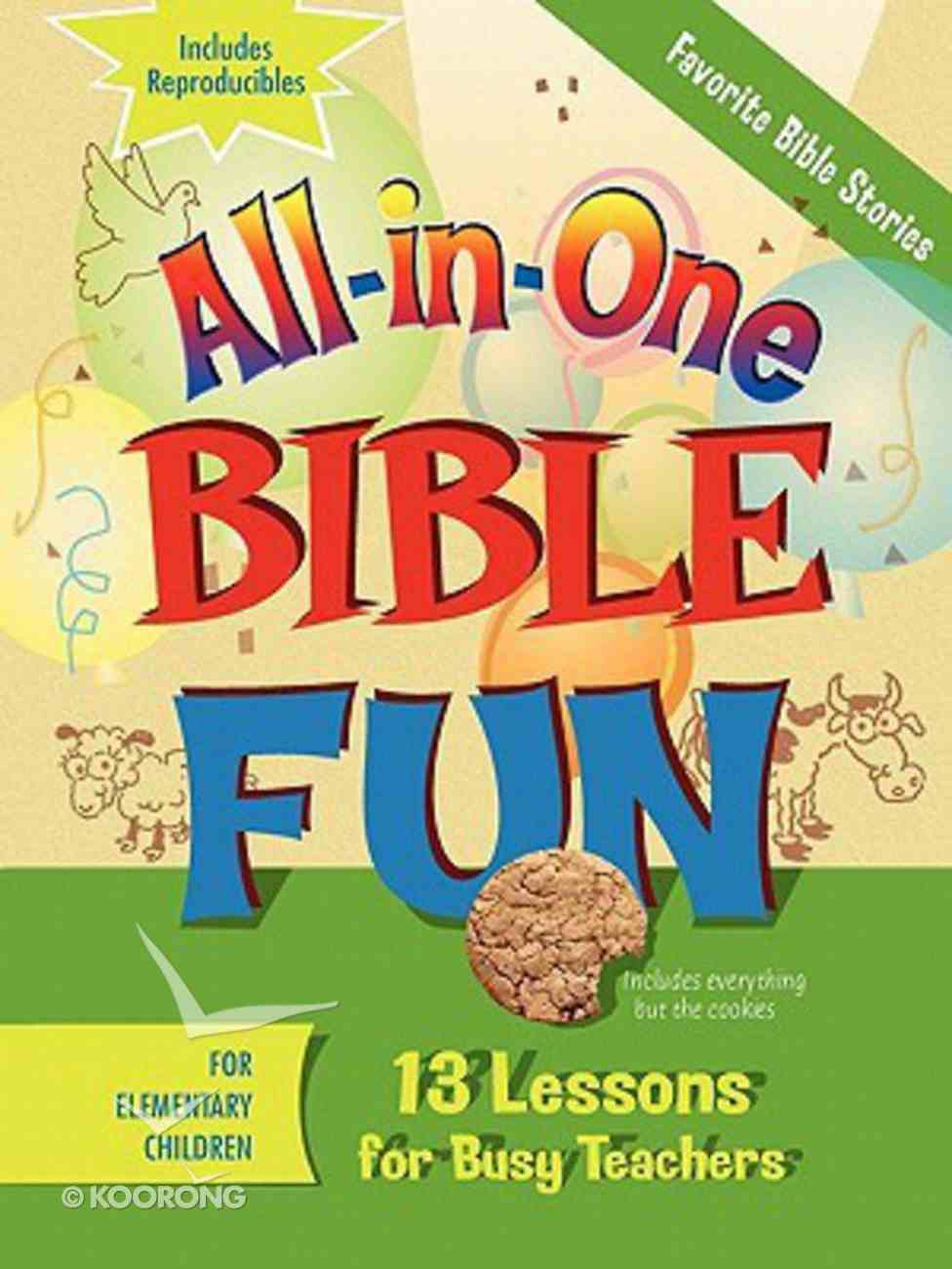 Favourite Stories of the Bible - Elementary (Bible Fun) (All In One Bible Fun Series) Paperback