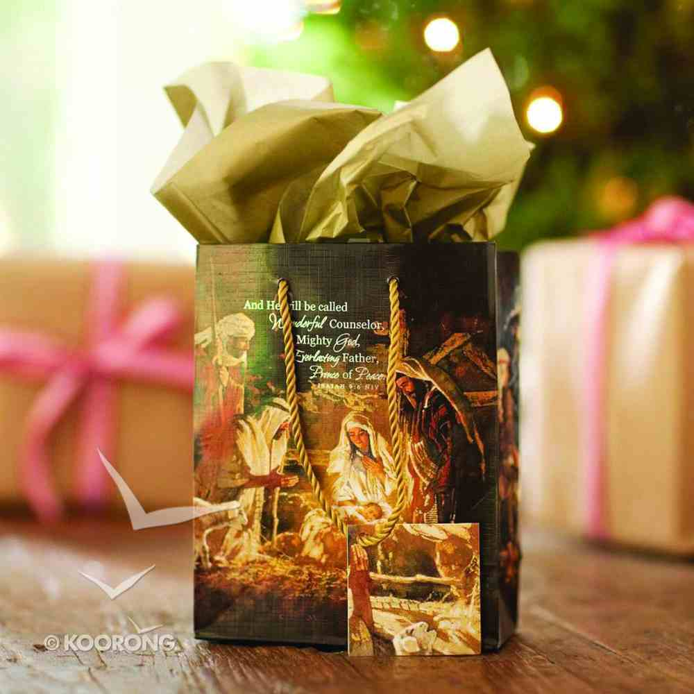 Christmas Gift Bag: Nativity (Small) Stationery