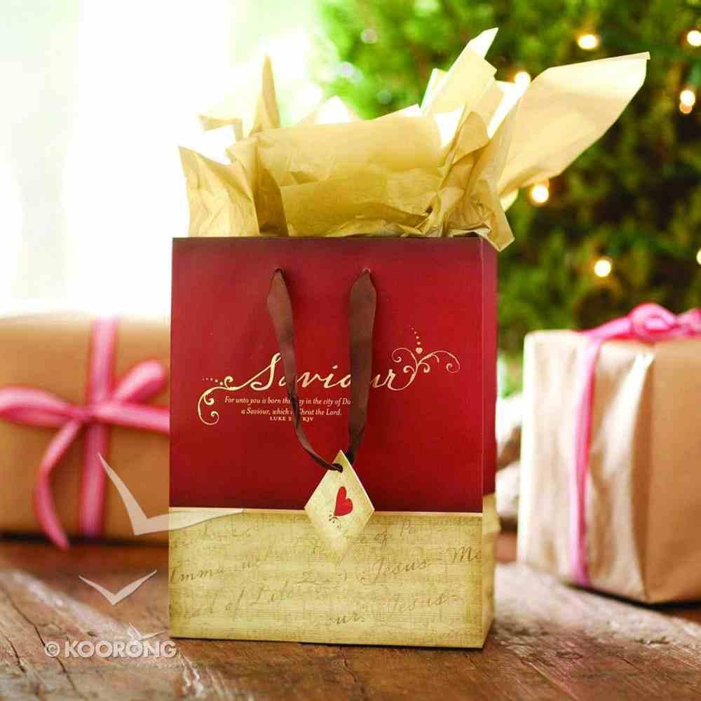 Christmas Gift Bag: Saviour (Medium) Stationery