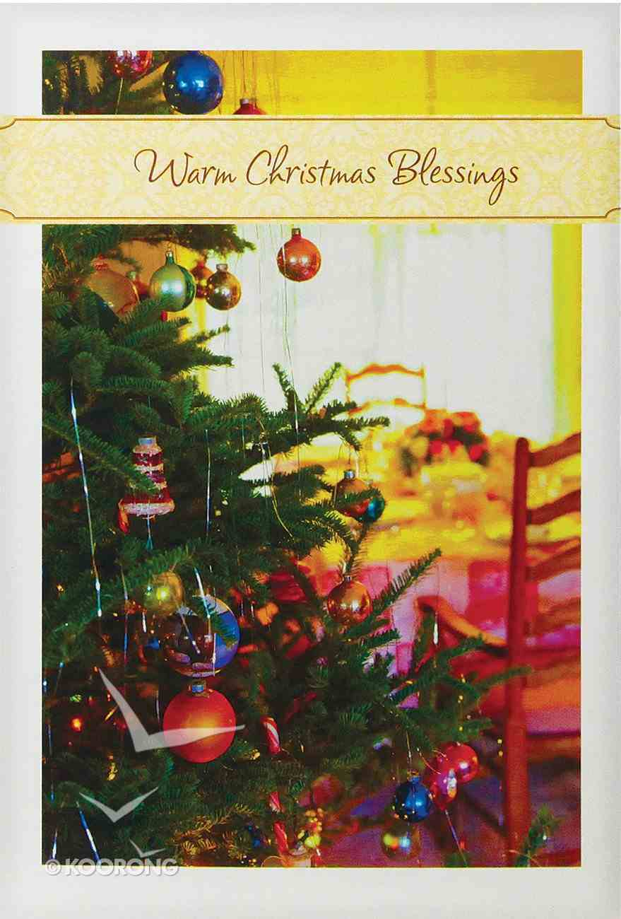 Christmas Boxed Cards: Warm Christmas Blessings Cards