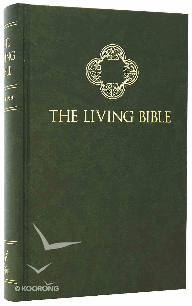 Lbp Living Bible Green (Black Letter Edition) Padded Hardback